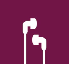 Front Page Icons - earphones - 2