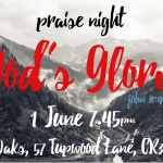 Praise Night - Wed. 26 October 7.45pm