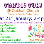Family Fun @ Oakhall Church - Sat 21st January