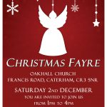 Christmas Fayre - 2 December