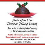 Christmas Pudding Evening - 6 November