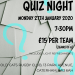 Oakhall church Quiz night