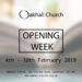 Oakhall Church Opening Week – Welcome!